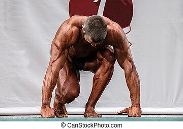 male professional athlete