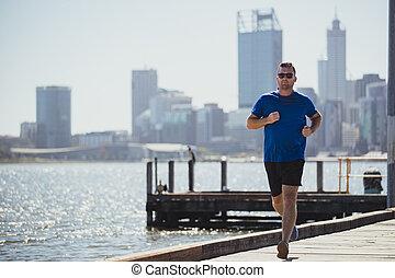 Male Runner Training