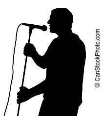 Male singing