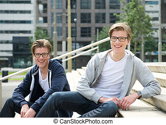 Male twins