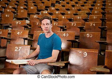 Male University Student