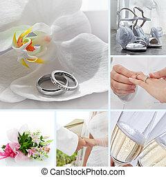 malen, vermalen, trouwfeest