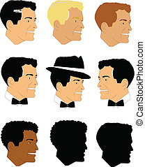 males from fifties set