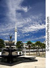 malezja, krajowy, meczet