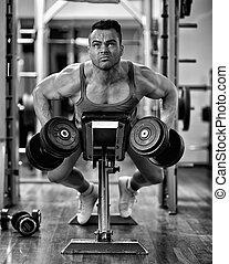 malhação, músculos, costas
