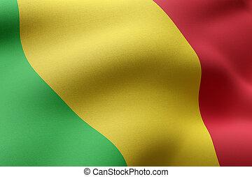 Mali 3d flag