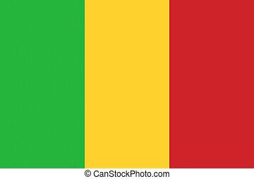 Mali flag illustration of african country - Mali flag ...