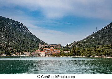 Mali Ston Town in Croatia