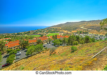 Malibu aerial view