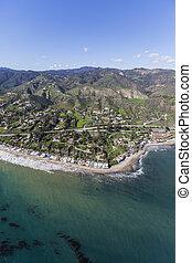 Malibu Cove Colony California Aerial