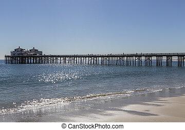 Malibu Pier in Southern California