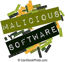 malicioso, software