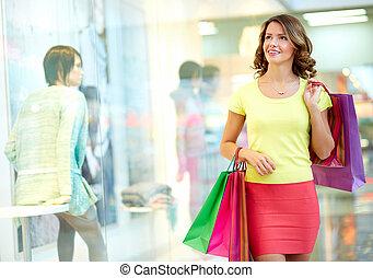 Mall admirer