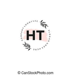 mall, brev, elementara, ht, ikon, design, logo