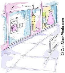 Mall Illustration