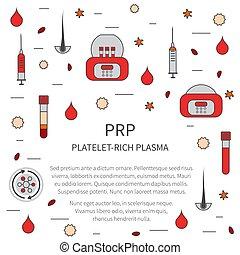 mall, medicinsk, platelet-rich, plasma, stil, behandling, ...