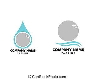 mall, pärla, ikon, illustration, set formge, vektor, logo
