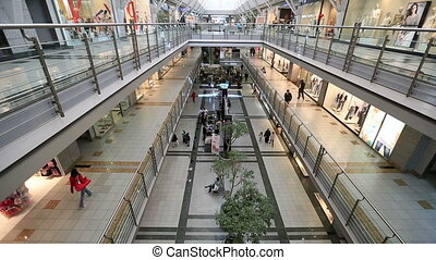 Mall - people in the mall