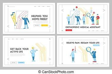 mall, sjukvård, orthopedist, glas., ortopedi, sjukhus, ...
