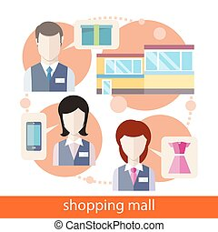 mall, zakupy