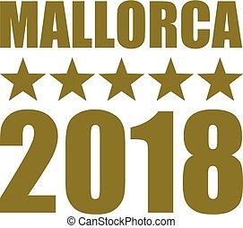 Mallorca 2018 gold german - Mallorca 2018 with golden stars