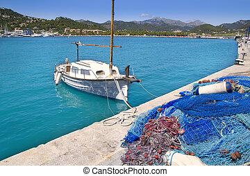 mallorca, andratx, puerto deportivo, islas, balear, puerto