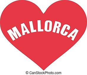 Mallorca heart