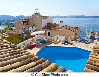 mallorca, luxe, espagne, villa