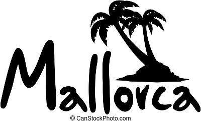 Mallorca palm - Creative design of mallorca palm
