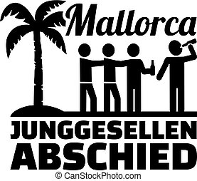 Mallorca stag night drinking german - German words for...