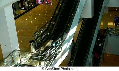 malls, elewator, zakupy