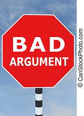 malo, argumento, concepto