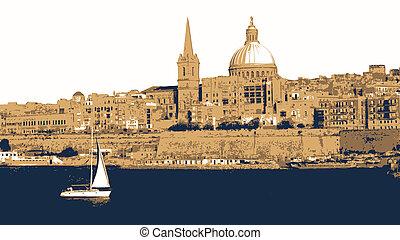 Malta Illustration