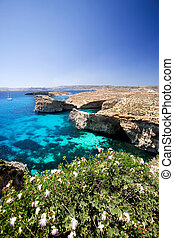 Malta Landscape - Landsacpe of Comino and Gozo islands