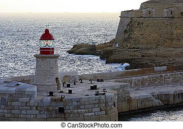 Malta light house