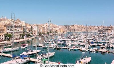 Malta Marina - A Marina in Valletta, Malta.