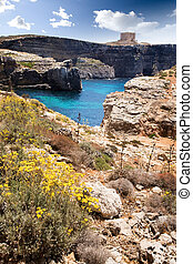 malta, paisagem