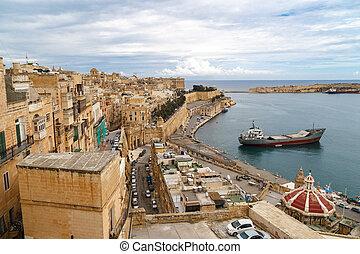 malta, seascape, názor