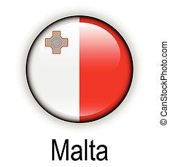 malta state flag