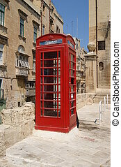 Malta telephone.
