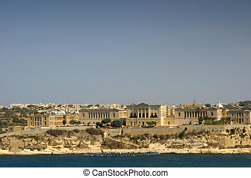 malta - Valetta harbor view, Capital of Malta island