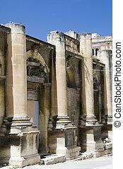 malta valletta historic opera house ruins
