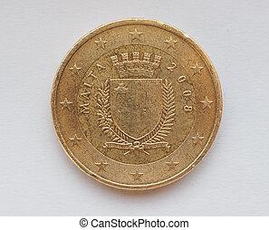 Maltese Euro coin