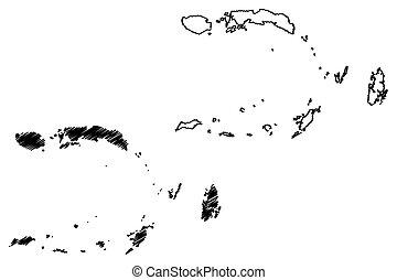 Maluku map - Maluku (Subdivisions of Indonesia, Provinces of...