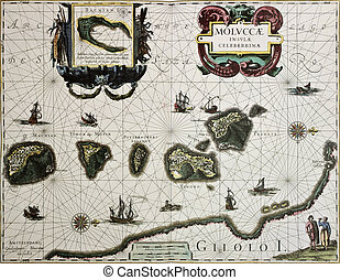 Maluku old map