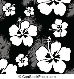 malwa, próbka, kwiat, seamless