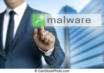 malware browser is operated by businessman