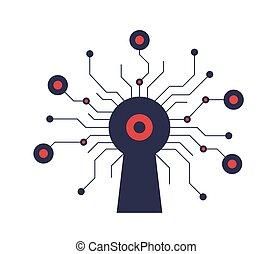malware., bugs, cyber, ataque, crítico, segurança
