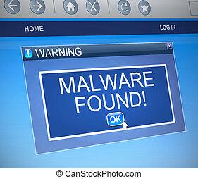 malware, concept.