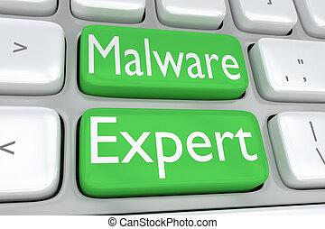 malware, experte, begriff